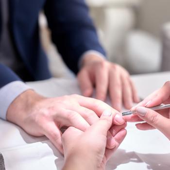 Men Manicure